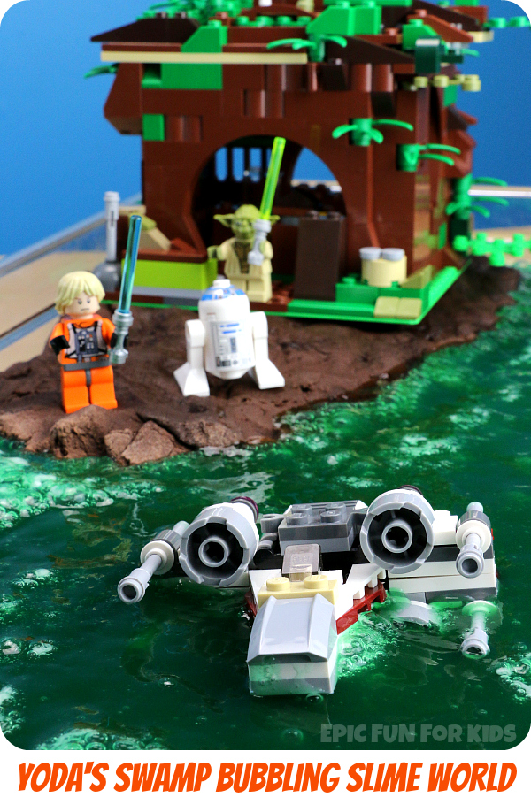 Lego Star Wars Yoda's Swamp Slime Activity - Epic Fun for Kids