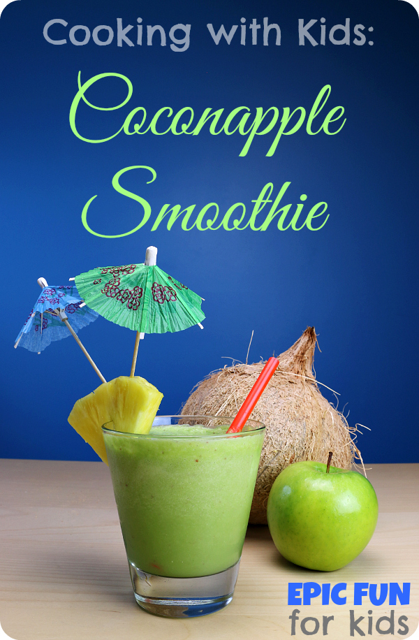 LEGO Mixels Coconapple Smoothie Recipe