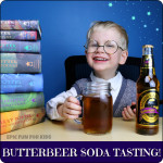 Harry Potter Butterbeer Soda Tasting
