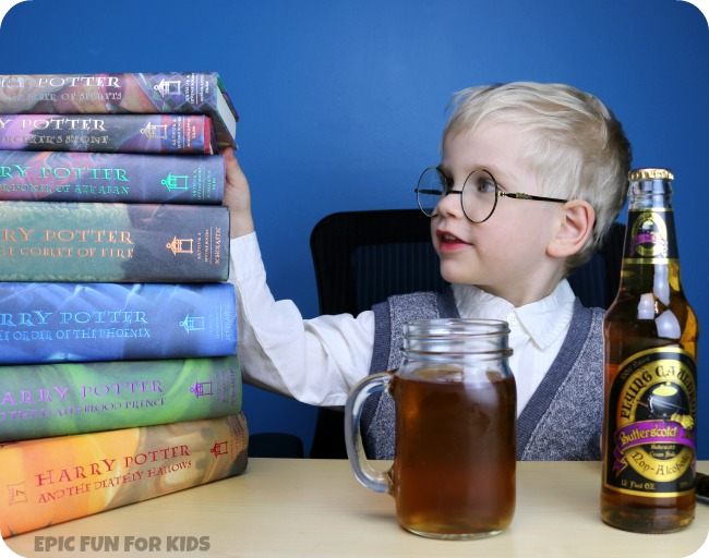 The Flying Cauldron's Butterscotch Beer: we taste-tested a butterbeer-style soda, perfect for Harry Potter birthday parties!