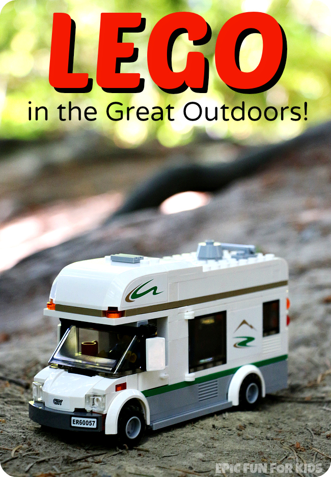 A fun Lego set to take into the great outdoors, plus tips for taking LEGO outside, learned from our experience.
