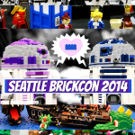 Seattle BrickCon 2014: LEGO Building Inspiration for Kids