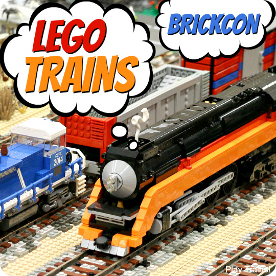 Seattle Brickcon 2014 LEGO Trains